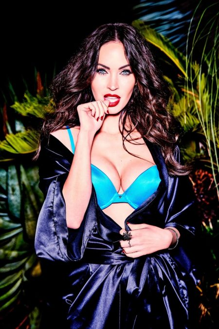 Flaunting her cleavage, Megan Fox stars in Frederick's of Hollywood campaign