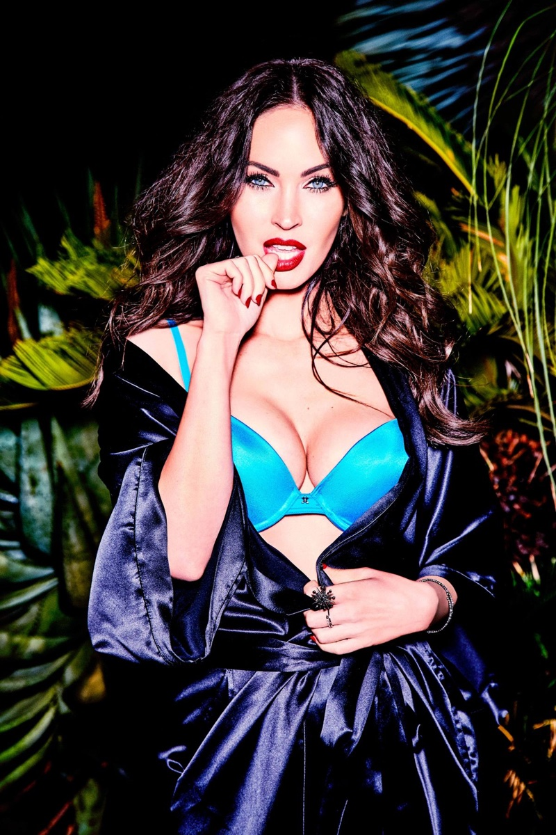 Megan Fox Heats Up Frederick's Of Hollywood Lingerie Campaign