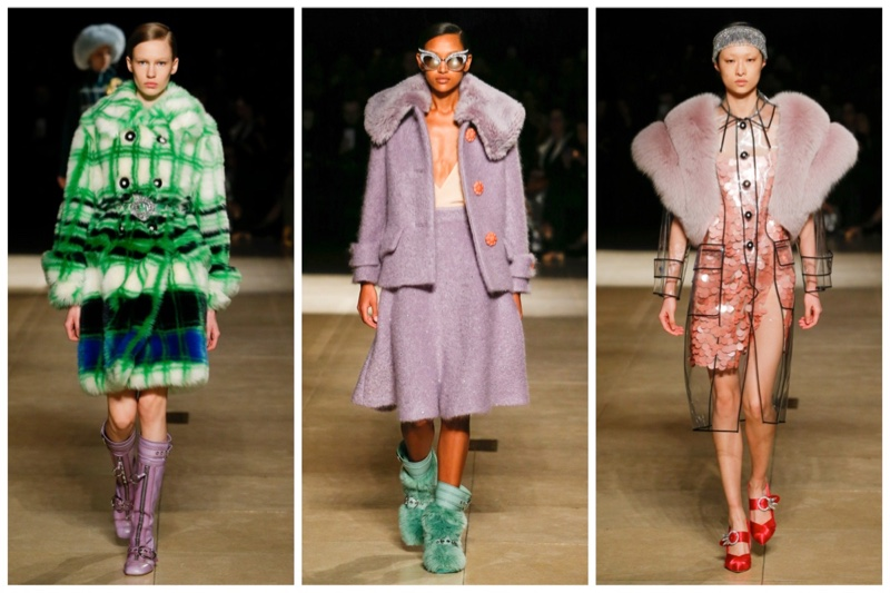 Miu Miu Brings On the Fur for Fall 2017