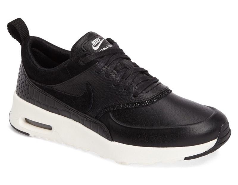 Nike Air Max Thea LX Sneaker in Black $135