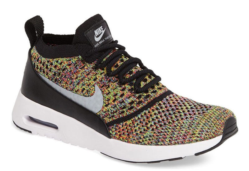 Nike Air Max Thea Ultra Flyknit Sneaker in Mix $150