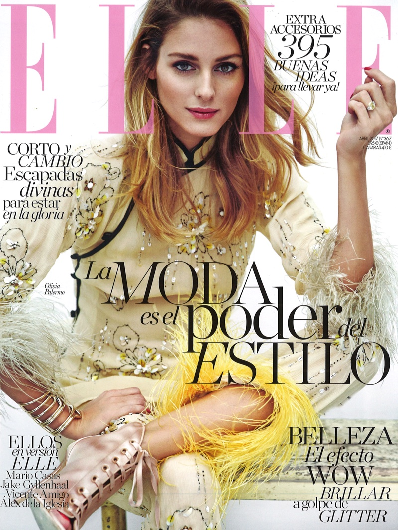 Olivia Palermo on ELLE Spain April 2017 Cover