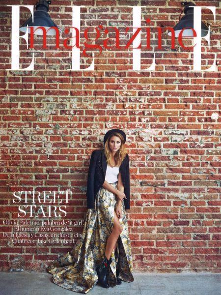 Olivia Palermo Poses in Elegant Ensembles for ELLE Spain