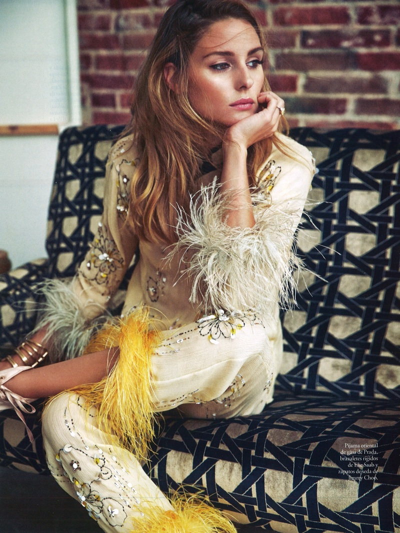 Olivia Palermo Poses in Elegant Ensembles for ELLE Spain