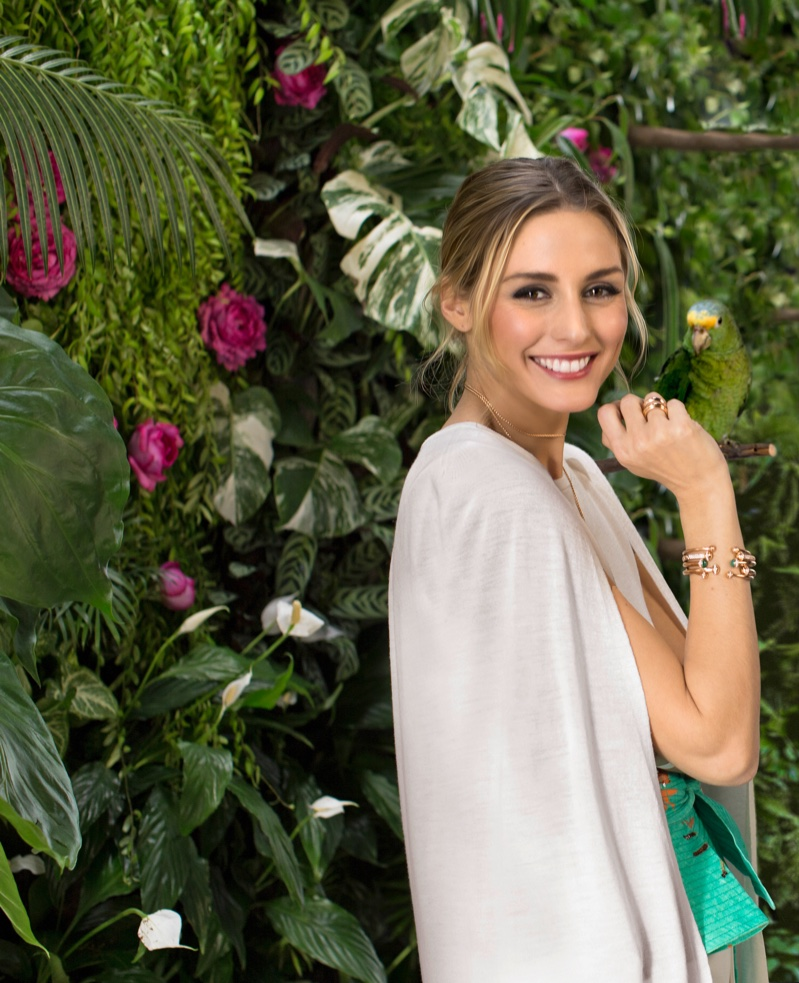 All smiles, Olivia Palermo stars in Piaget Possession campaign