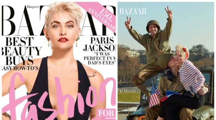 Paris Jackson Takes Over Paris for Harper's Bazaar Cover Shoot