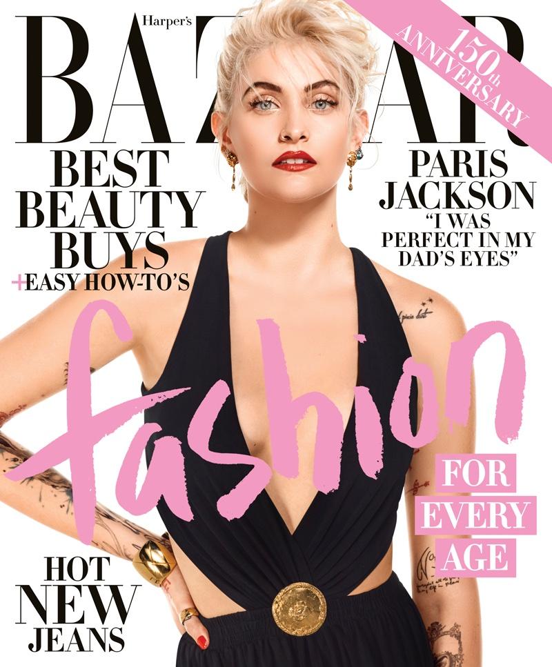 Paris Jackson on Harper's Bazaar April 2017 Cover