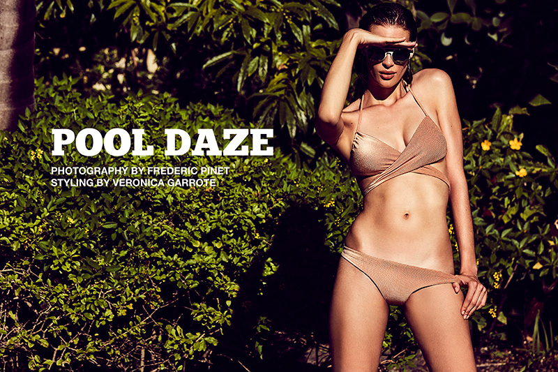 Pool Daze photographed by Frederic Pinet