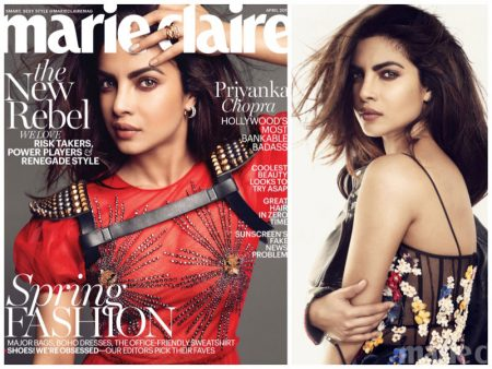 Priyanka Chopra Stars in Marie Claire, Talks About Her Love Life
