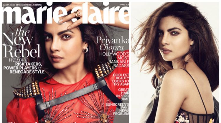 Priyanka Chopra Stars in Marie Claire, Talks About Her Love Life