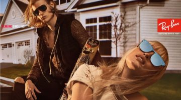 Steven Klein Shoots Ray-Ban's Edgy New Campaign