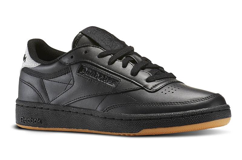 Reebok Club C85 Diamond Sneaker in Black $79.99