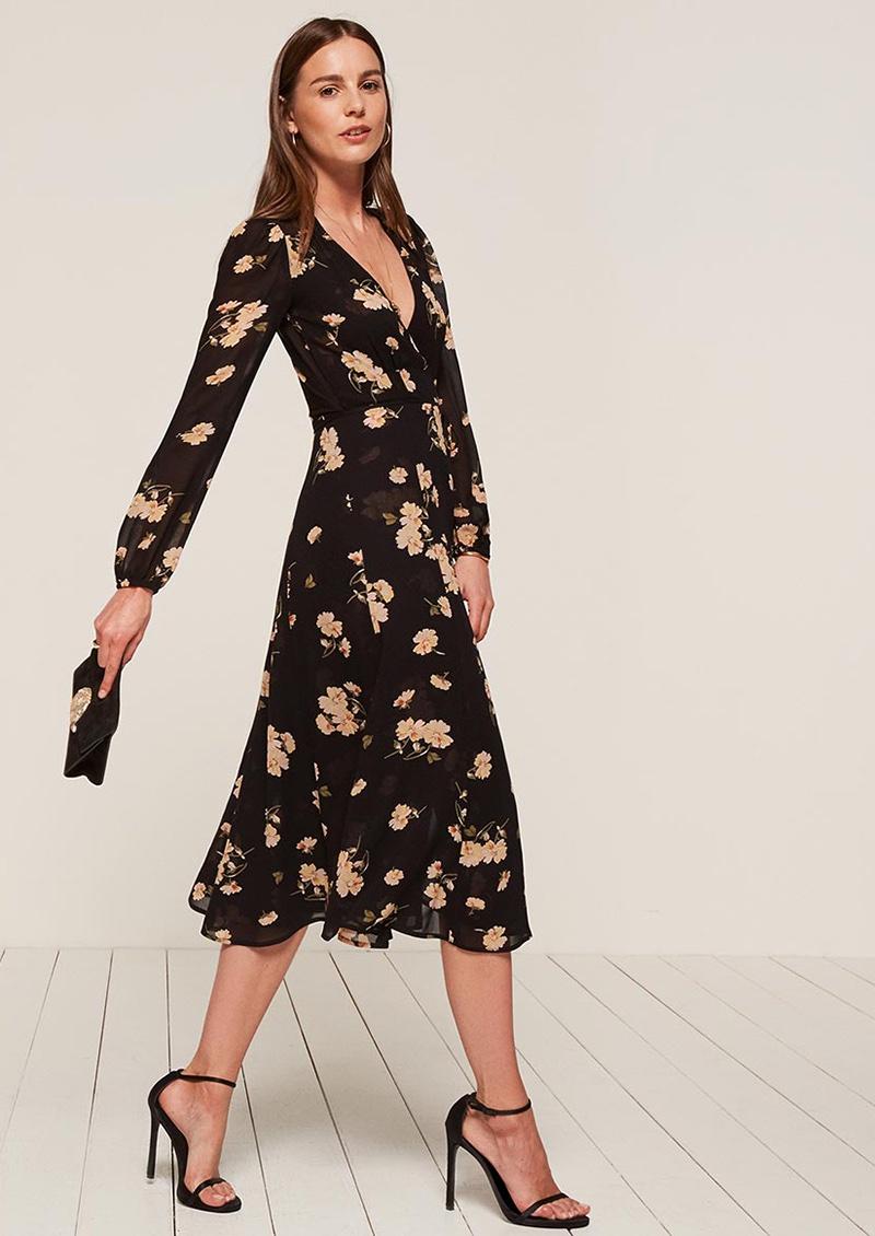 Reformation Chelsea Wrap Dress
