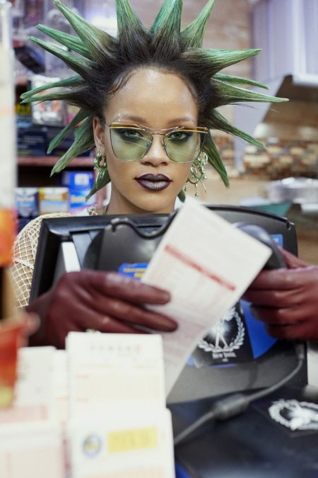 Rihanna Brings Style to the Convenience Store for Paper Magazine