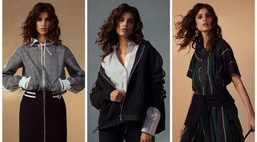 Just In: Sacai & Net-a-Porter's Sporty Luxe Designs Arrive
