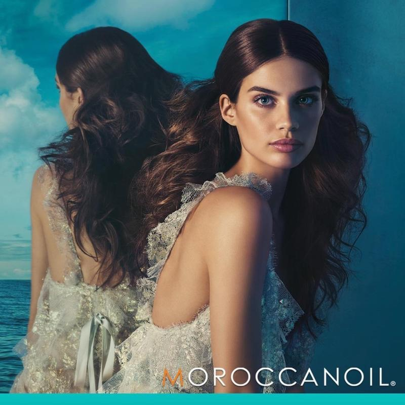 12a8ae20a55 Moroccanoil names Portuguese model Sara Sampaio its new brand ambassador