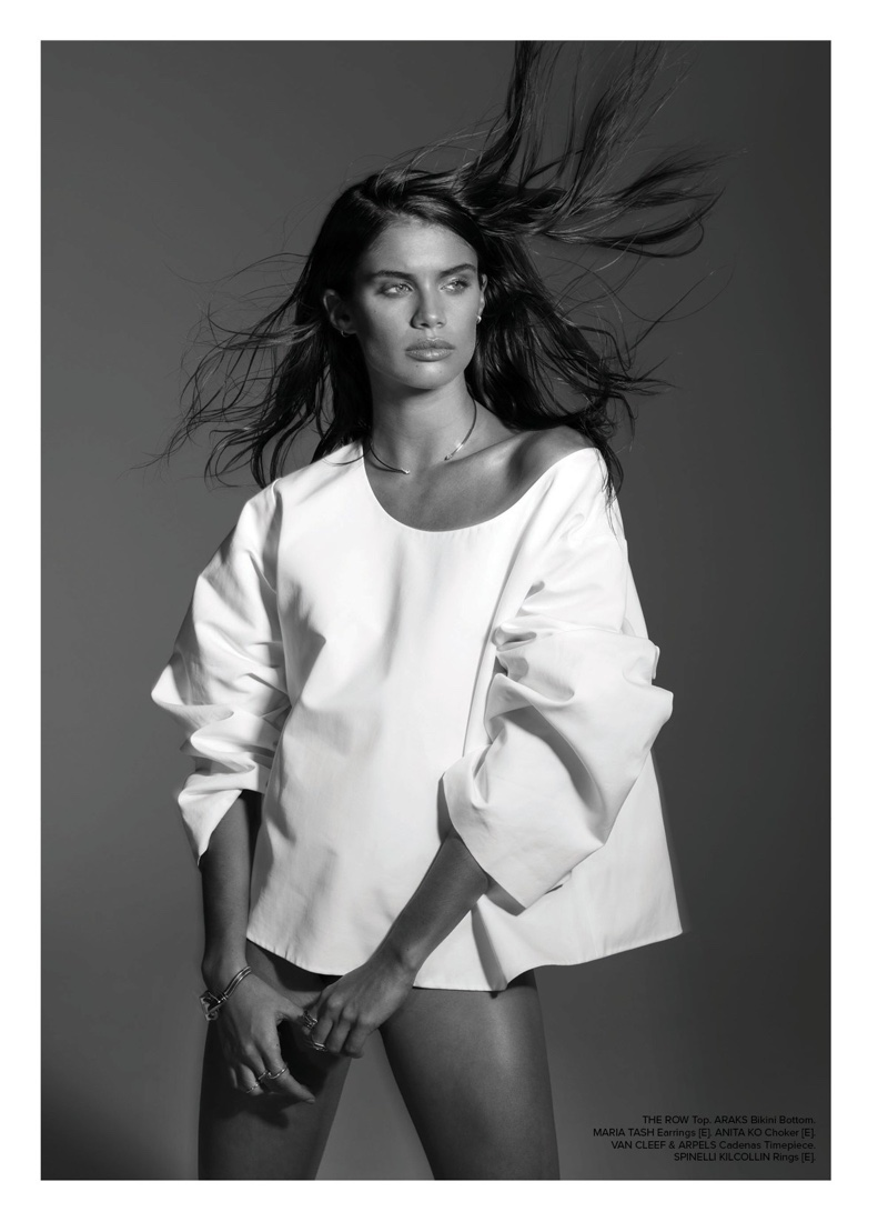Sara Sampaio Wears Minimal Styles for Editorialist Magazine