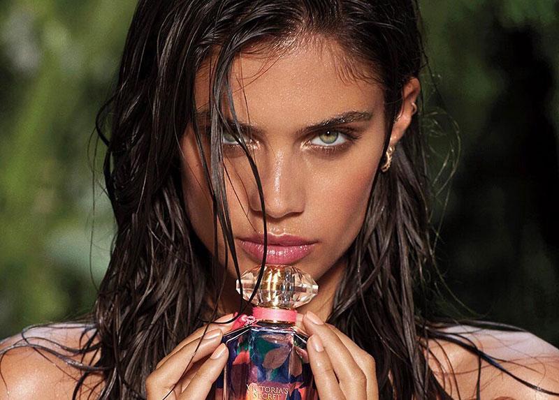 Sara Sampaio Smolders in Victoria's Secret 'Very Sexy Now' Fragrance Ad