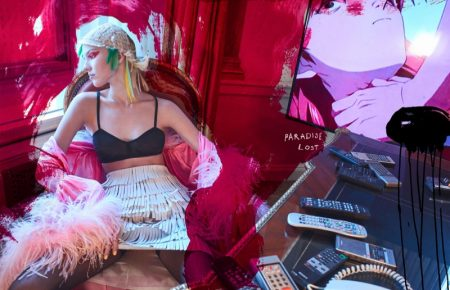 Sasha Luss Poses in Eclectic Styles for The Fashionable Lampoon