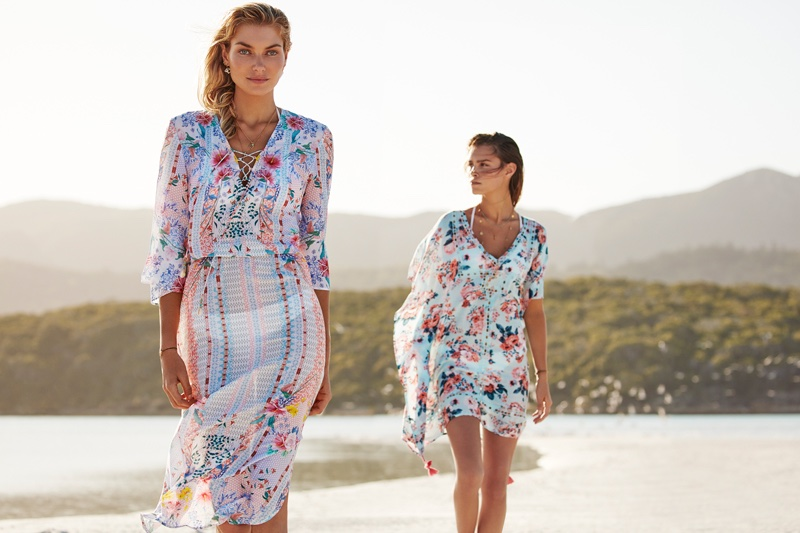 An image from Seafolly's summer 2017 campaign