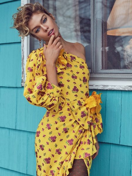 Stella Maxwell is 'Wild at Heart' for Vogue Turkey Cover Story