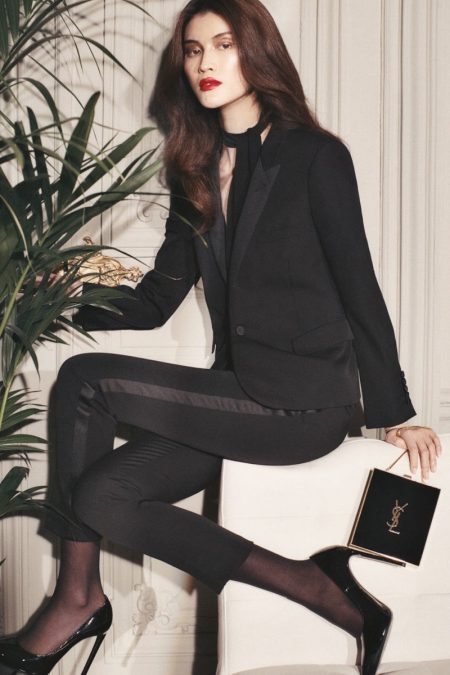 Sui He Poses with Spring's Stand Out Accessories for The Edit