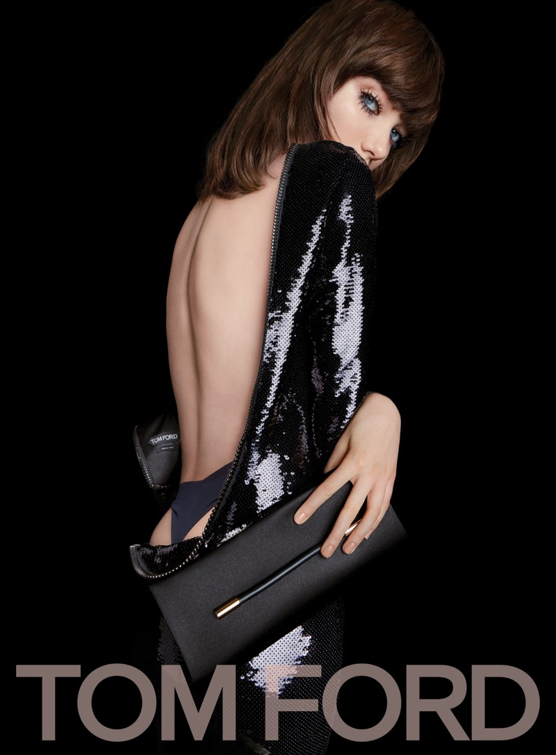 3f6f411dc0 Grace Hartzel stars in Tom Ford s spring-summer 2017 campaign