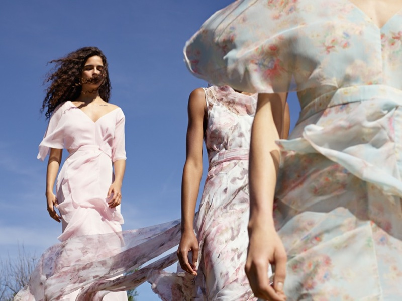Topshop Bride showcases dreamy florals and pastels