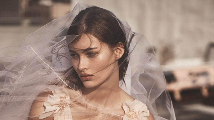 A wedding dress from Topshop Bride's debut collection