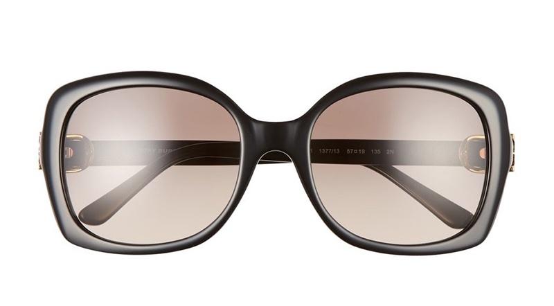 Tory Burch 57MM Oversized Sunglasses $195