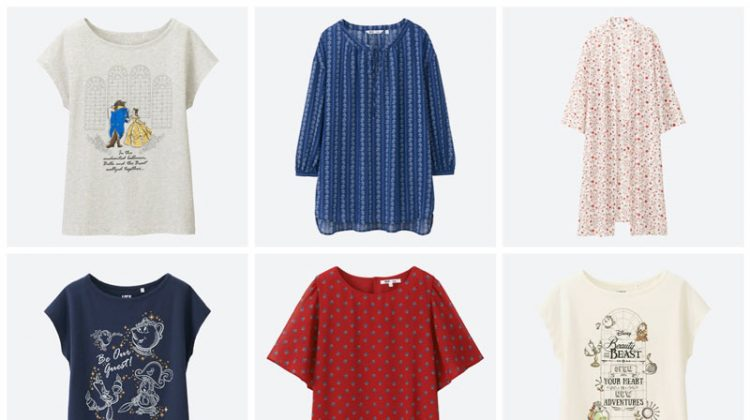 Uniqlo and Beauty and the Beast clothing collaboration