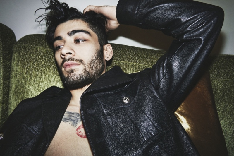 Gigi Hadid photographs Zayn Malik for Versus Versace's spring-summer 2017 campaign