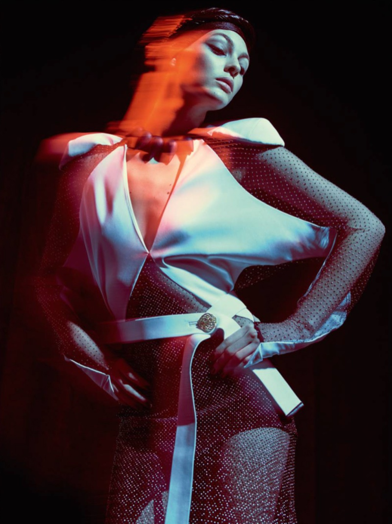 Vittoria Ceretti Poses in Surreal Style for Vogue Paris