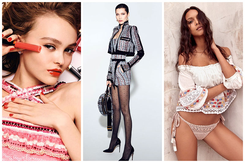 Week in Review | Lily-Rose Depp for Chanel, Bella Hadid Models Vauthier, Lais Ribeiro for Free People + More