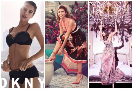 Week in Review | Emily Ratajkowski for DKNY, Alessandra Ambrosio's New Cover, Eva Mendes for NY & Company + More