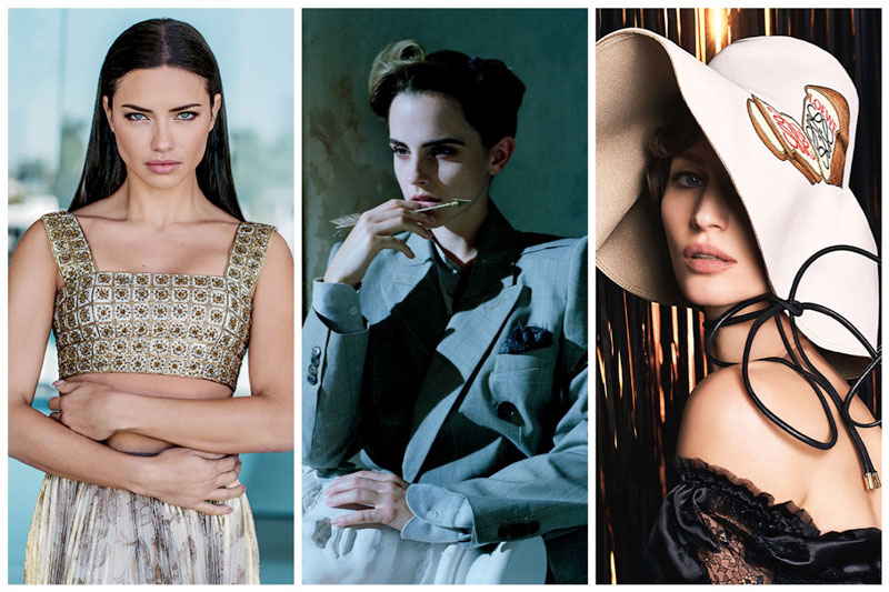 Week in Review | Adriana Lima's New Cover, Gisele Bundchen Lands Loewe, Emma Watson for Vanity Fair + More