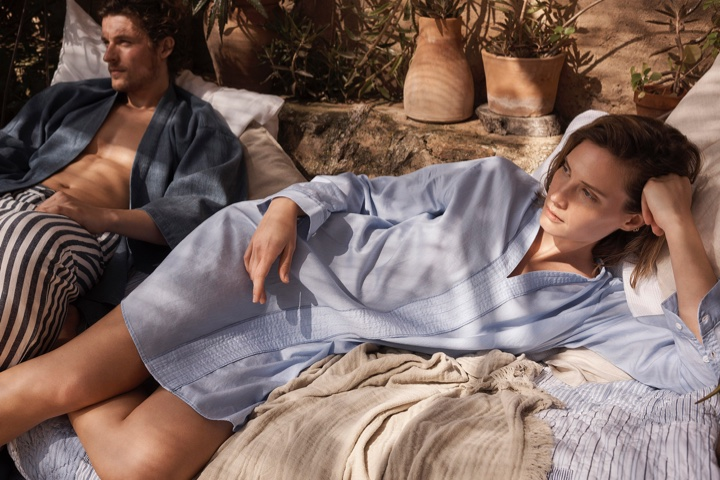 Zara Home features cotton shirtdress in spring-summer 2017 Loungewear collection