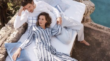 Drake Burnette Has a Cozy Day with Zara Home's Latest Loungewear