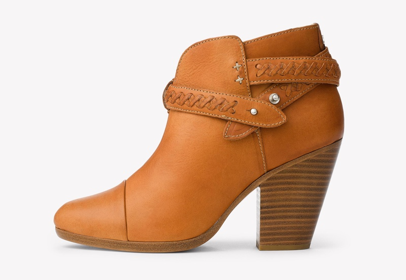 Rag & Bone also designs the Harrow boot in brown leather