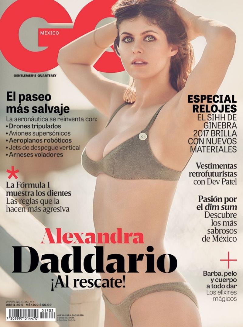 Alexandra Daddario On Gq Mexico April 2017 Cover
