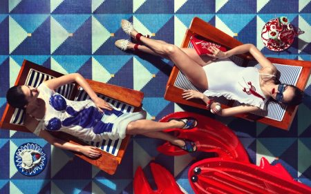 Andrew Yee Captures Chic Poolside Fashions for How to Spend It