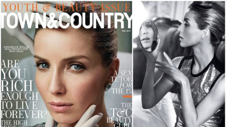 'The Mummy' Star Annabelle Wallis Shines in Town & Country Magazine