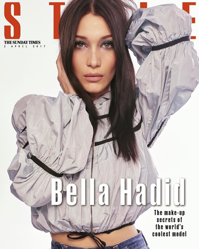 Bella Hadid on The Sunday Times Style April 2, 2017 Cover