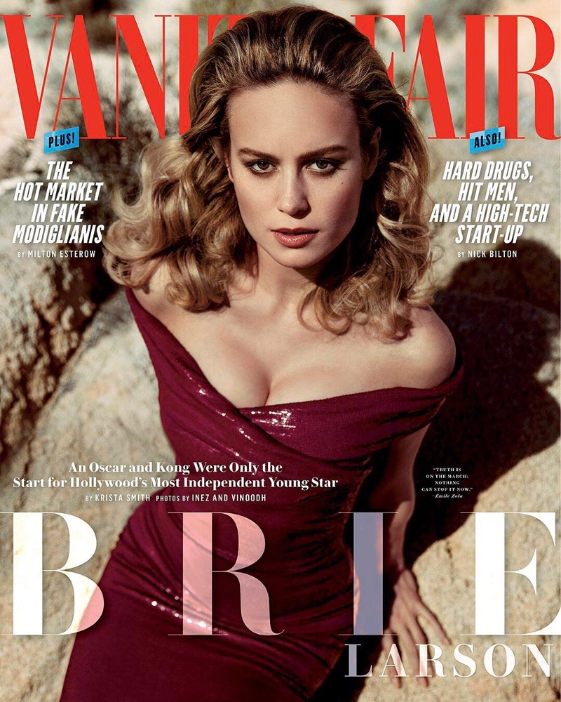 Brie Larson on Vanity Fair May 2017 Cover