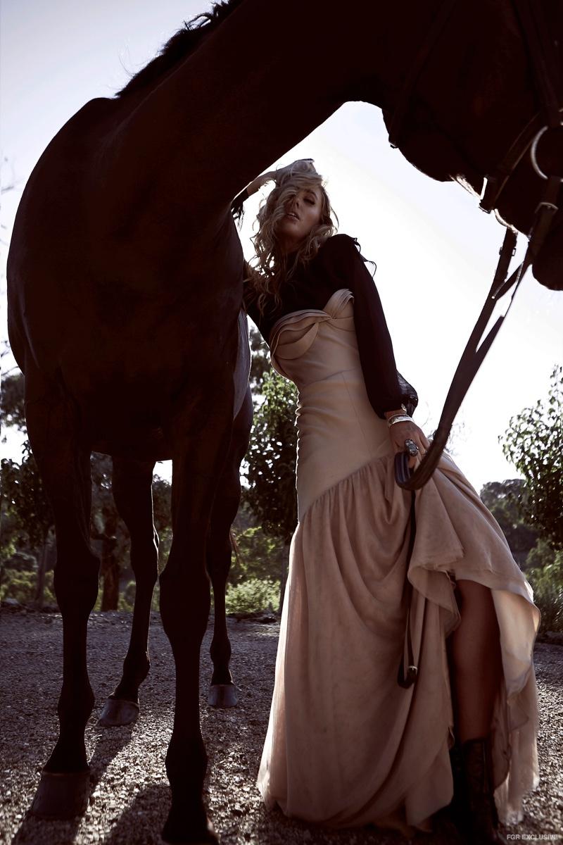 Exclusive: Brooke Hogan by Liane Hurvitz in 'Outdoor Glam'