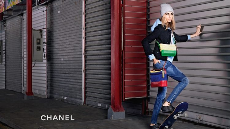 Cara Delevingne Looks Tomboy Chic in Chanel 'Gabrielle' Ad