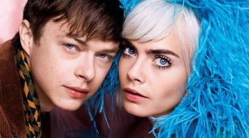 Cara Delevingne & 'Valerian' Co-Star Dane DeHaan Go Sci-Fi Chic for V Magazine