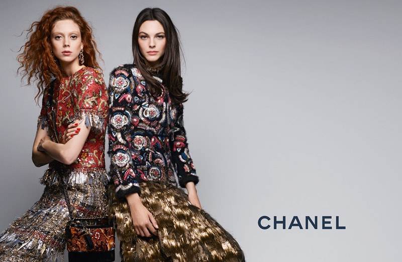 Chanel turns up the shine factor with its pre-fall 2017 advertising campaign