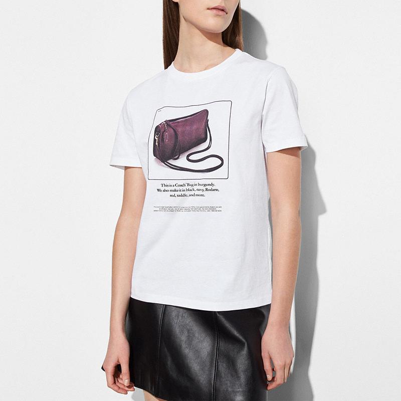 Coach and Rodarte T-Shirt Archive Print $125