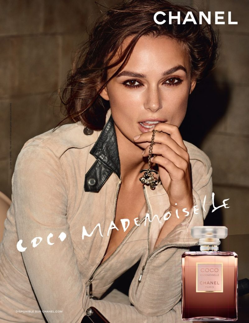 Keira Knightley Enchants in New Chanel Fragrance Campaign